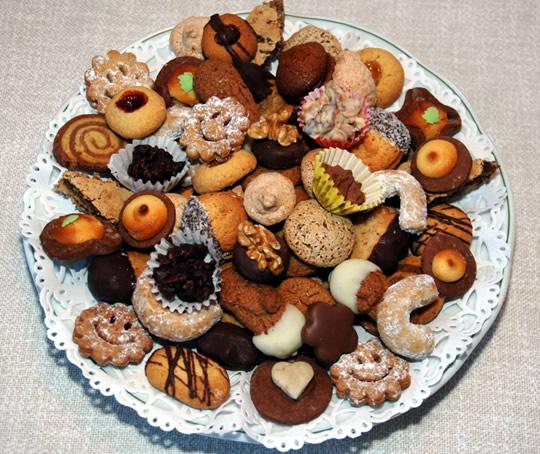 Selbstgemachte Kekse