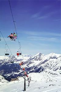 Skiurlaub am Weisssee Gletscher