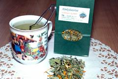 Tee mit Wacholderbeeren